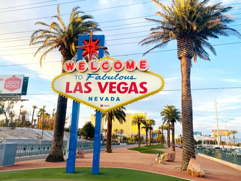 Letrero de Bienvenida de Las Vegas